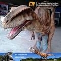 Mi dino- alta realista animatronic velociraptor de disfraces para adultos