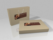 Family trucks packaging sets paper bag&paper box sets