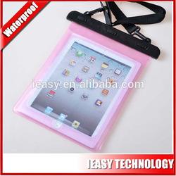 for ipad waterproof 100% waterproof ,hard pvc plastic for ipad waterproof case