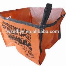 100% virgin polypropylene woven pp big bag/jumbo bags for sand/ore/stones/pellets/waste manufacturer