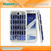 Colored glass stones phone case for Samsung Galaxy note2/N7100