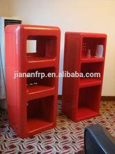 Fiberglass furniture, shiny glossy gel coat finish