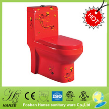 HS-1532CC Red toilets special sizes european toilets for sale