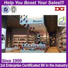New Fashion Retail Shoe Store Display Showcase Designs