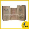 Heavy-duty Take away food grade kraft paper food bag
