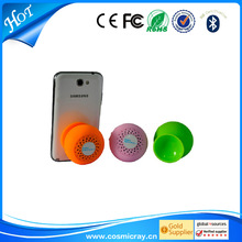 Outdoor bluetooth speaker with suction cup,small dimension,wireless design,hands-free portable