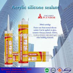 acetic silicone sealant/ acrylic-based silicone sealant supplier/ ducting silicone sealant