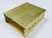 Aluminum extruded HDD case