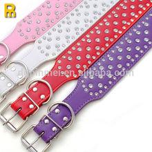 Custom leather leash and collar
