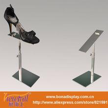 shoe shop equipment of shoe rack