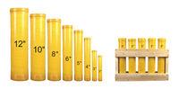 "2.5""-12"" Fiberglass fireworks mortar tubes / fuegos artificiales de fibra de vidrio tubos de mortero"