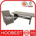 Sedia per esterni e mobili, ingrosso fabbrica produttore diretto, stile rustico giardino della natura colore vimini tavolo rettangolare set