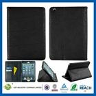 Top quality custom for ipad mini leather cartoon case