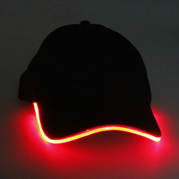 2014 import china goods glow in dark led hat for events