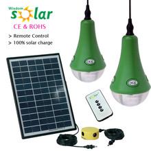 2014 newest cheap product 3/6/9/12/15W solar panel 3W led lamp high brightness portable solar powered light(JR-SL988B)