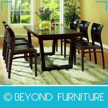 Black Brown Chair Restaurant Furniture