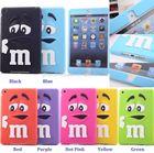 3D Cute M&M'S Chocolate Candies Silicone Case Cover For iPad 2/3/4,iPad Mini 1/2