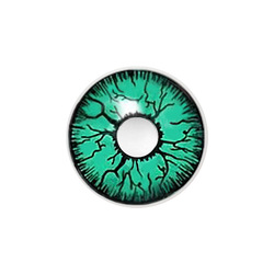 Newest grisly green eyes crazy contact lens/exaggerated and special design palno color contact lens/cheap original contact lens