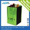 4-bottle canvas wine bag, custom wine bag, red wine bag