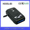 Car speed camera detector laser gun radar detector for Russia