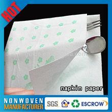 Solid Color Serviette Tissue Hotel Napkin Paper Serviette Tissue
