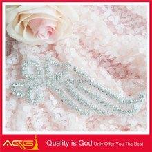 Sparkling clear rhinestone crystal applique embellishment 2d 3d photo crystal laser engraving