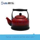 3.0L shinning line enamel kettle/enamel tea kettle/porcelain enamel teapot kettle