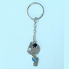 2014 New arrival Lovely design promotional gift cartoon frog keychain