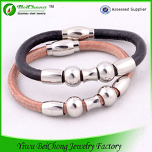 2014 top clasps for leather bracelets,stainless steel bracelet
