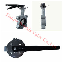 epdm seat gear stainless steel full lug butterfly valve