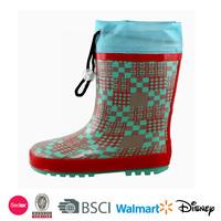 2014 children snow queen rubber boots