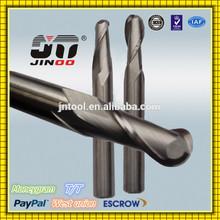 High precision Tungsten Carbide HRC45 2 Flute carbide mill