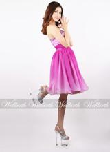 WB1208-K07 A Sense of Energy and Strength Blush Pink Evening Dresses