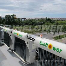 vacuum tube solar air conditioning