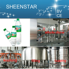 famous brand mineral water filling machine line