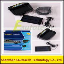 Auto Solar Powered Car Fan Solar Powered Window Fan Ventilator Auto Cool Air Vent For Vehicle
