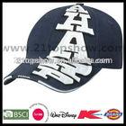 Cheap applique sandwich cap materials to make hats