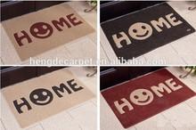 high quality welcome pvc door mat