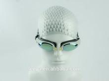 Man cool swim goggle,silicone swim cap,silicone swim glass