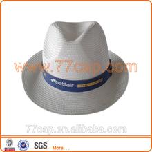 White Fedora Hats Plaid Fedora Hat