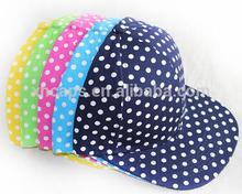 2014 print dot hip-hop caps , baseball caps, print dot