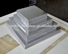 Sunshine Silver Cardboard Square Cake Base/Board