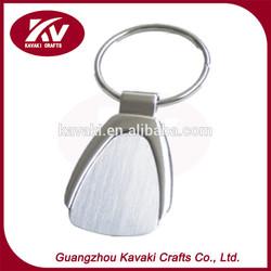 Novelty design latest custom metal felt keychain