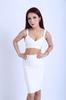 Sexy white bandage dress for women new fashion dress
