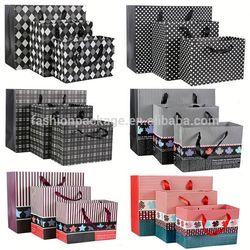New and Fashion block bottom kraft paper bags