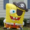 Popular inflatable spongebob pirate cartoon