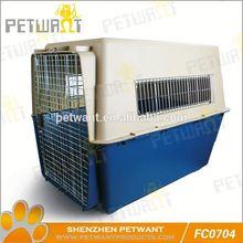 plastic dog crate folding