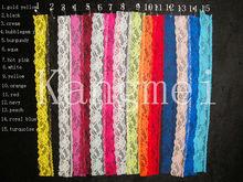 Venta al por mayor de encaje de algodón de tejido de punto de la cinta adhesiva de la etiqueta engomada del arte de la decoración 10 rolls / lot