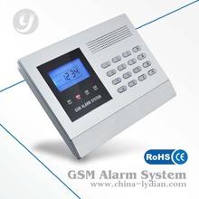 315/433MHz DIY package patrol hawk gsm security alarm systems ph-g50b china