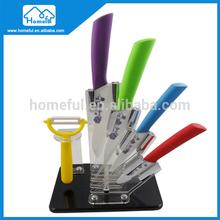 Zirconium oxide chef line knife set
